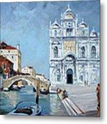 Venice - Scuola Di San Marco Metal Print by Irek Szelag