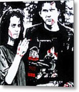 Veronica And J.d. Metal Print by Jack Irons