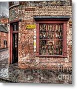 Victorian Corner Shop Metal Print by Adrian Evans