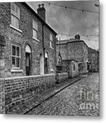 Victorian Street Metal Print by Adrian Evans