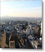 View From Basilica Of The Sacred Heart Of Paris - Sacre Coeur - Paris France - 011320 Metal Print by DC Photographer