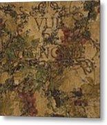 View Of The Vineyard Metal Print by Chris Brandley