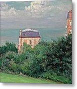 Villas At Villers-sur-mer Metal Print by Gustave Caillebotte