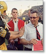 Vince Lombardi Congratulated Metal Print by Retro Images Archive
