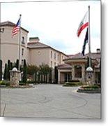 Vineyard Creek Hyatt Hotel Santa Rosa California 5d25787 Metal Print by Wingsdomain Art and Photography