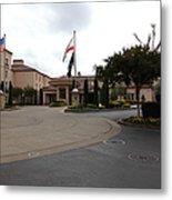 Vineyard Creek Hyatt Hotel Santa Rosa California 5d25789 Metal Print by Wingsdomain Art and Photography