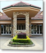 Vineyard Creek Hyatt Hotel Santa Rosa California 5d25792 Metal Print by Wingsdomain Art and Photography
