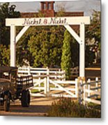 Vineyard Trucking Metal Print by Holly Blunkall
