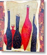 Vino 1 Metal Print by Phiddy Webb