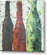 Vino 2 Metal Print by Phiddy Webb