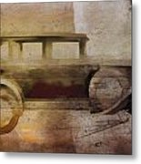 Vintage Buick Metal Print by David Ridley