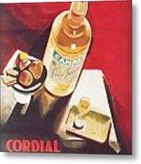 Vintage Campari Metal Print by Georgia Fowler