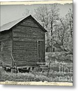 Vintage Frosty Morning 1 Metal Print by Chalet Roome-Rigdon