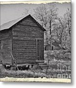Vintage Frosty Morning 2 Metal Print by Chalet Roome-Rigdon