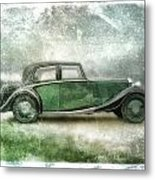 Vintage Rolls Royce Metal Print by David Ridley