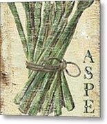 Vintage Vegetables 1 Metal Print by Debbie DeWitt