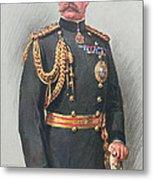 Viscount Kitchener Of Khartoum Metal Print by Walter Wallor Caffyn