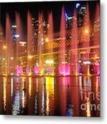Vivid Sydney By Kaye Menner -  Vivid Aquatique  Metal Print by Kaye Menner