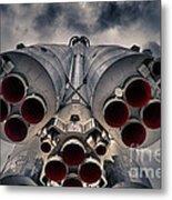 Vostok Rocket Engine Metal Print by Stelios Kleanthous