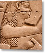Wadjet Metal Print by Stephen & Donna O'Meara