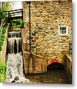Wagner Grist Mill Metal Print by Paul Ward