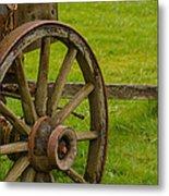 Wagons West Metal Print by Tikvah's Hope