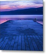 Waiting For The Dawn Metal Print by Steven Ainsworth