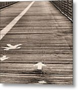 Walk This Way Metal Print by JC Findley