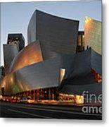 Walt Disney Concert Hall 21 Metal Print by Bob Christopher