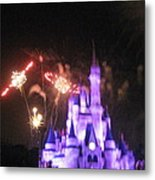 Walt Disney World Resort - Magic Kingdom - 121238 Metal Print by DC Photographer