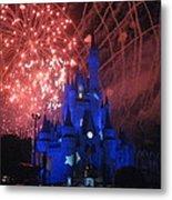 Walt Disney World Resort - Magic Kingdom - 121271 Metal Print by DC Photographer