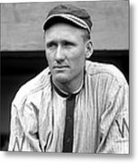 Walter Johnson Close Up Metal Print by Retro Images Archive