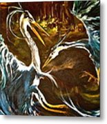 War Of The Worlds Metal Print by Michelle Dommer