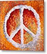 Warm Peace Metal Print by Michelle Boudreaux