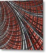 Warp Core Metal Print by John Edwards