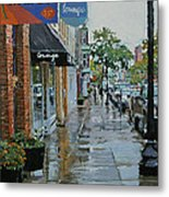 Warren Above Fifth Metal Print by Kenneth Young