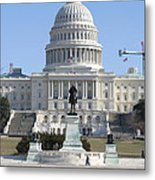 Washington Dc - Us Capitol - 01132 Metal Print by DC Photographer