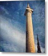 Washington Monument Metal Print by Toni Martsoukos