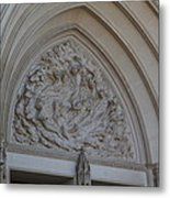 Washington National Cathedral - Washington Dc - 0113118 Metal Print by DC Photographer