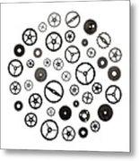 Watch Parts Metal Print by Jim Hughes
