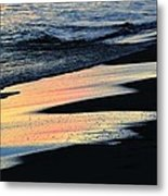 Water Colors .. Metal Print by Michael Thomas