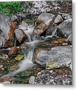 Water Coloured Rocks Metal Print by Jonah  Anderson
