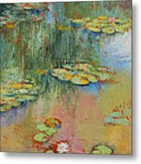 Water Lily Metal Print by Michael Creese