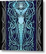 Water Spirit V.2 Metal Print by Cristina McAllister