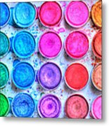 Watercolor Metal Print by Heidi Smith