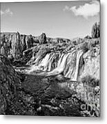 Waterfall Metal Print by Emirali  KOKAL