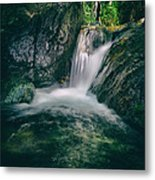 Waterfall Metal Print by Stelios Kleanthous