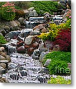 Waterfall Metal Print by Tom Prendergast