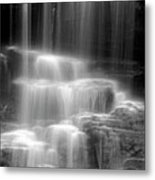 Waterfall Metal Print by Tony Cordoza