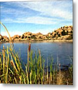 Watson Lake Arizona Metal Print by Kurt Van Wagner